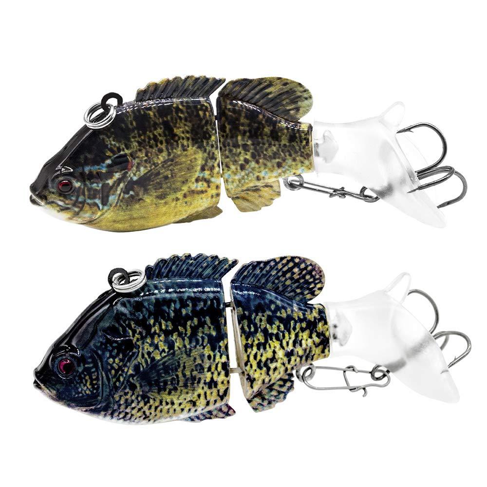"Fishing Lures Panfish Swimbaits Hard Topwater Bass Lures Crank Saltwater 2.95/""//0.46oz"