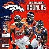 Turner Licensing Sport 2017 Denver Broncos Team Wall Calendar, 12''X12'' (17998011908)