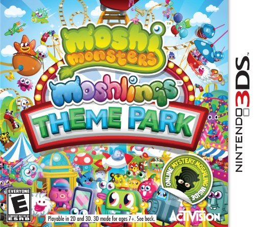 Moshi Monsters Moshlings Theme Park - Nintendo 3DS by Activision
