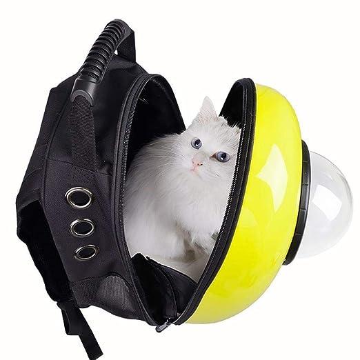 Amazon.com: Maerye Pet Bag Space Capsule Pet Backpack Shoulder Bag cat Bag Dog Bag pet Transport Bag fit 4-5 kg or so Dog: Garden & Outdoor