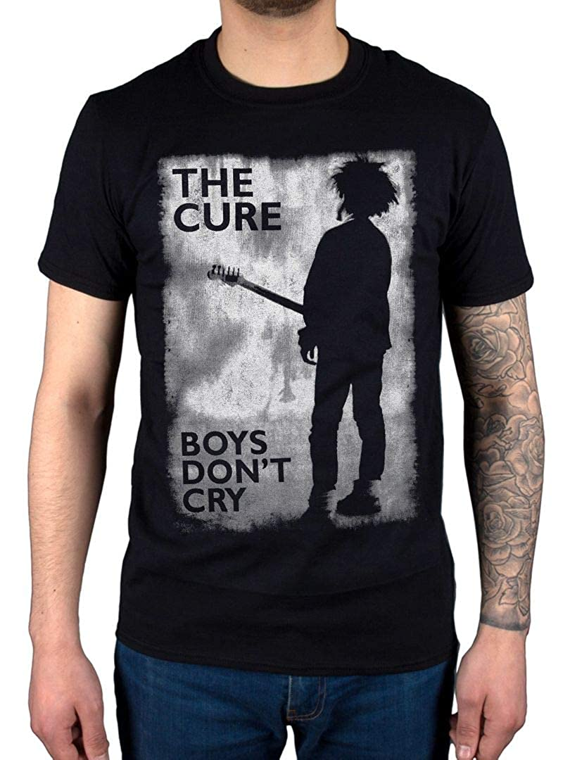 Offiziell The Cure Boys Dont Cry Black and White T-Shirt