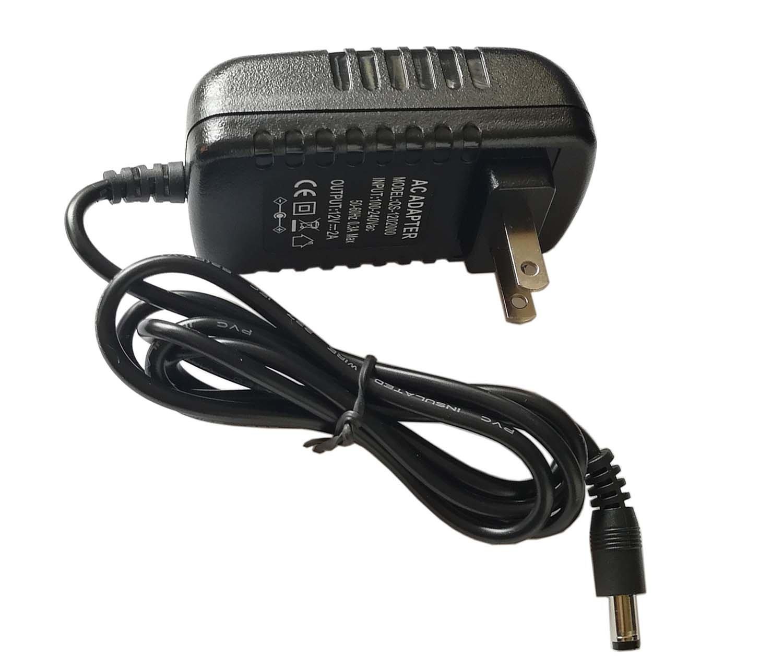 AC 100V-240V Switching Power Supply DC 12V 2A Power Adapter 24W 2000mA Transformer US Plug 5.5mmx2.1mm