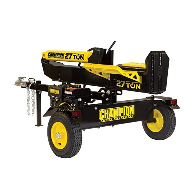 champion 27 ton log splitter reviews