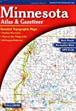 Minnesota Atlas and Gazetteer (Minnesota Atlas & Gazetteer) by Delorme (2016-06-06)