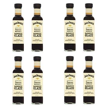 Oferta 8 Salsa Barbacoa Tennessee Honey Glaze Miel 275 gr Jack Daniel s