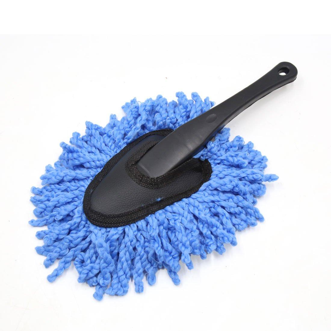 sourcingmap® Herramienta aferra el cepillo coche camión azul de microfibra plumero Quitar el polvo colada de la limpieza a17030900ux0286
