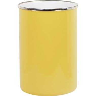 Calypso Basics by Reston Lloyd Enamel on Steel Utensil Holder, Lemon