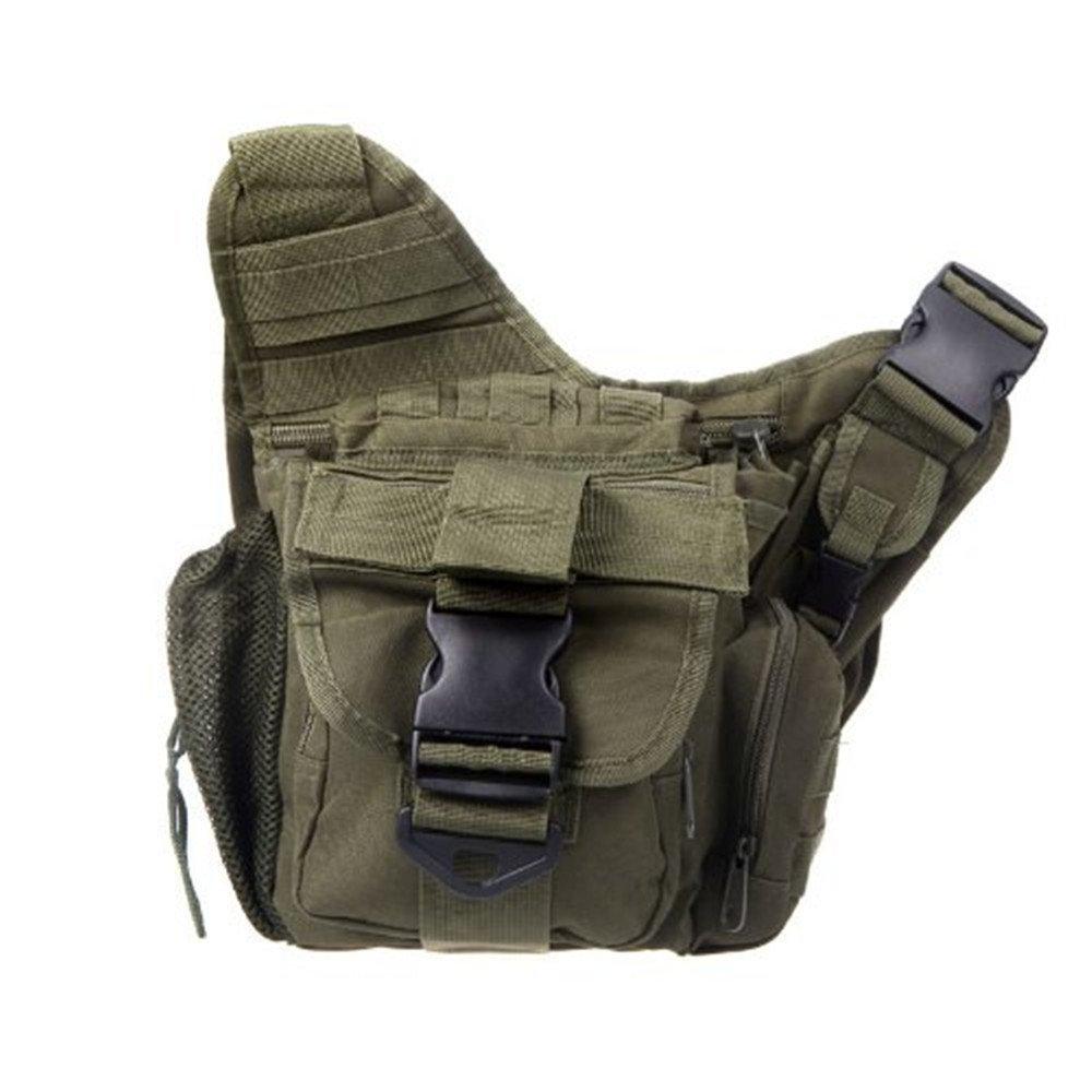Lixada - Bolso bandolero impermeable para viajar, diseño adecuado para ejército militar