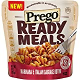 Prego Ready Meals, Marinara & Italian Sausage Rotini, 9 oz (Pack of 6)