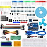 Keywish Project ADXL335 Starter Kit with Tutorial, ADXL335 Module, UNO R3 Controller Board, H-Bridge L293D, DC Motor, Dot Matrix Display for Arduino UNO R3