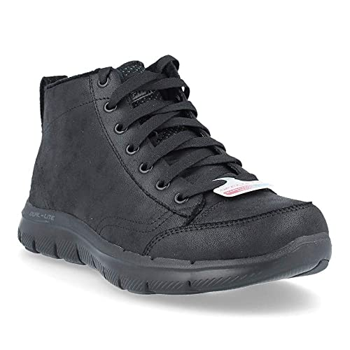 1cbe373f421 Skechers BBK Black Scarpa Donna Tronchetto 12892  Amazon.it  Scarpe e borse