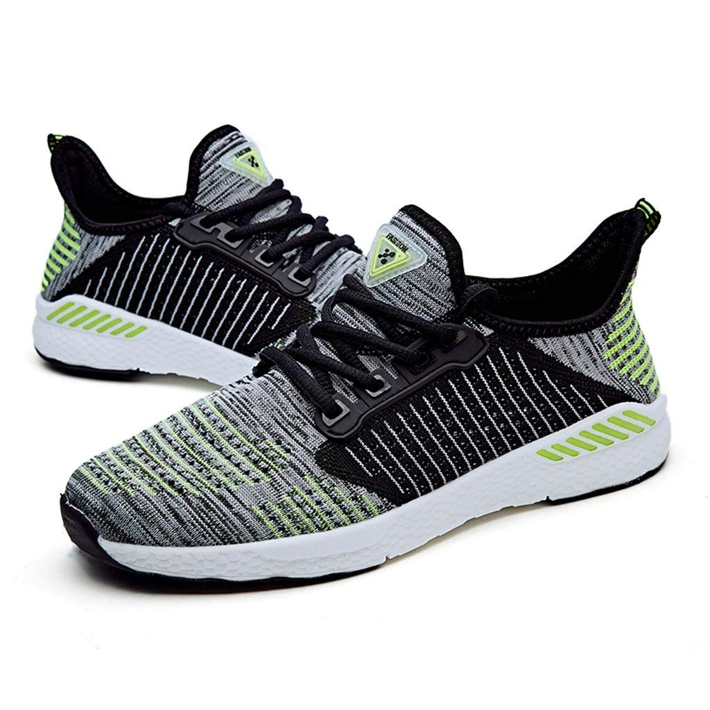 TIFENNY Couple Fashion Lightweight Sneakers Mesh Breathable Sport Sneakers Casual Shoes Student Running Shoes
