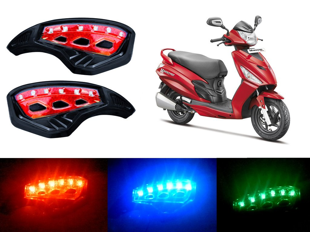 Auto Pearl Monster 7 8 Motorcycle Brush Guards Multi