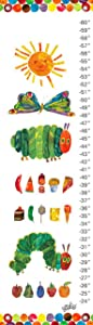 Oopsy Daisy Eric Carle's The Very Hungry Caterpillar Growth Chart, 12 by 42-Inch