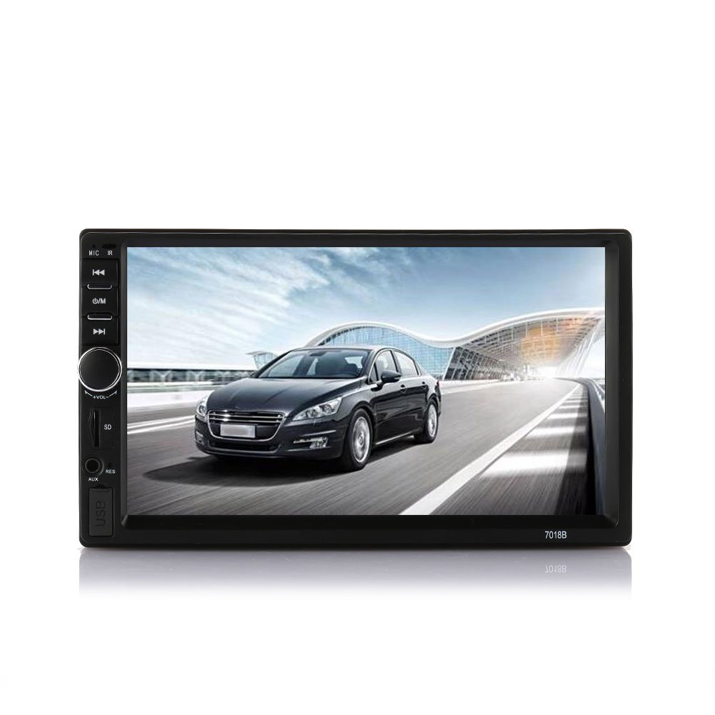Sedeta 7inch Multimedia Player Bluetooth TFT Screen Dual Core Car Audio Stereo MP5 Player Auto 2-Din Support AUX FM USB SD MMC with Remote Controller