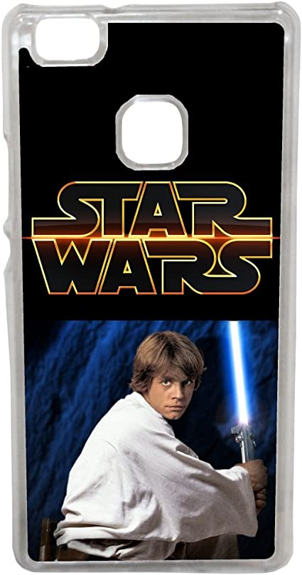 Huawei P8 Lite 2017 - Etui housse coque Star Wars Luke Skywalker ...