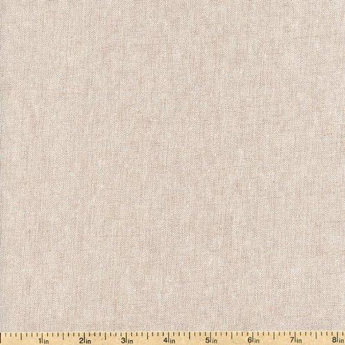 Robert Kaufman Essex Natural Flax Linen Fabric ~ 55% Linen 45% Cotton ~ 43