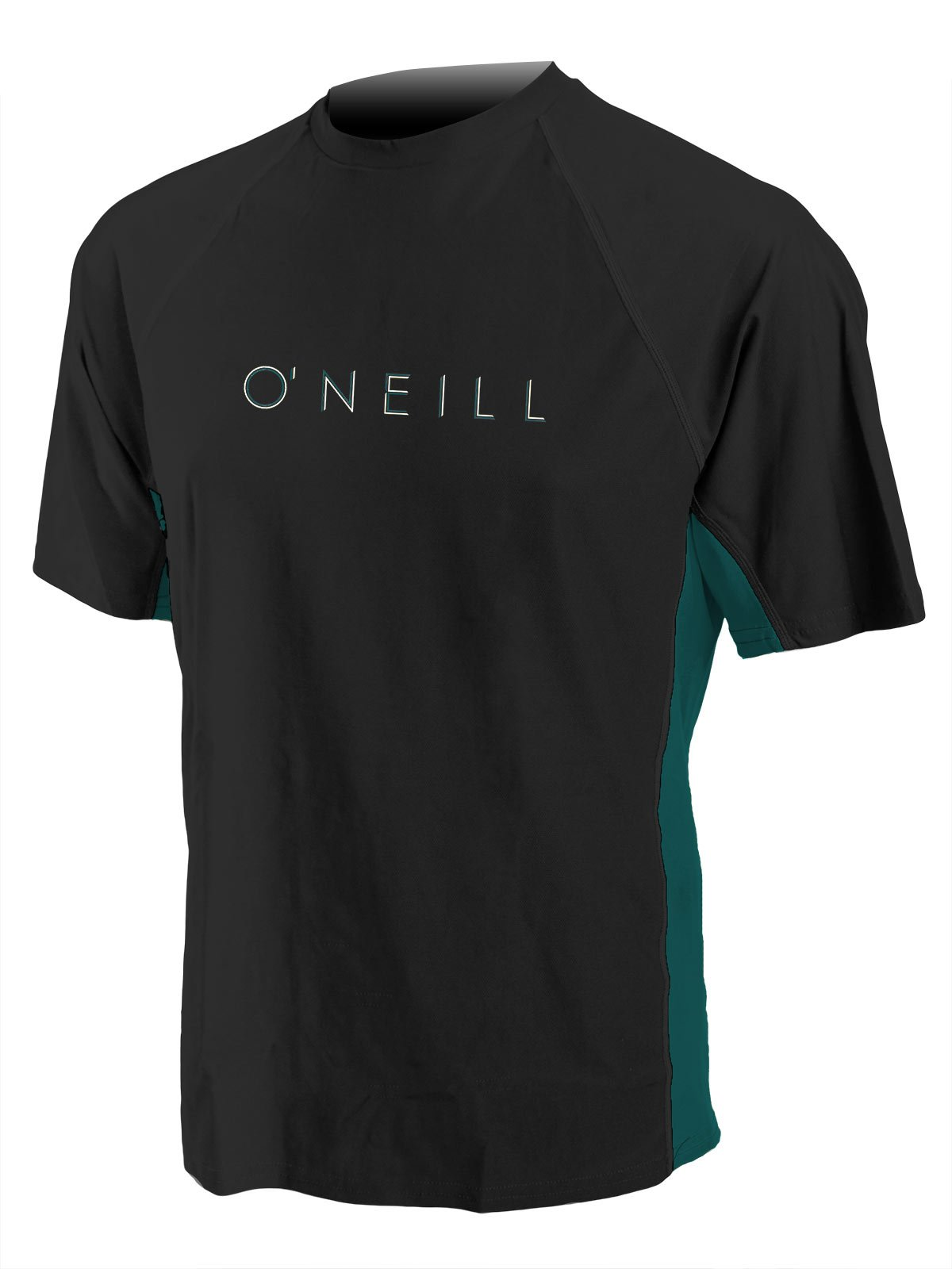O'Neill Men's 24/7 Sun tee 3XL-Tall Black/deep Teal (4452C) by O'NEILL