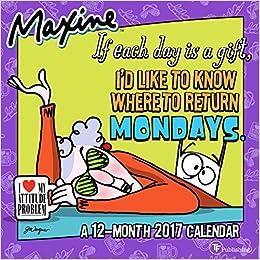 2017 Maxine by Hallmark Mini Calendar: Hallmark: 9781624387722 ...