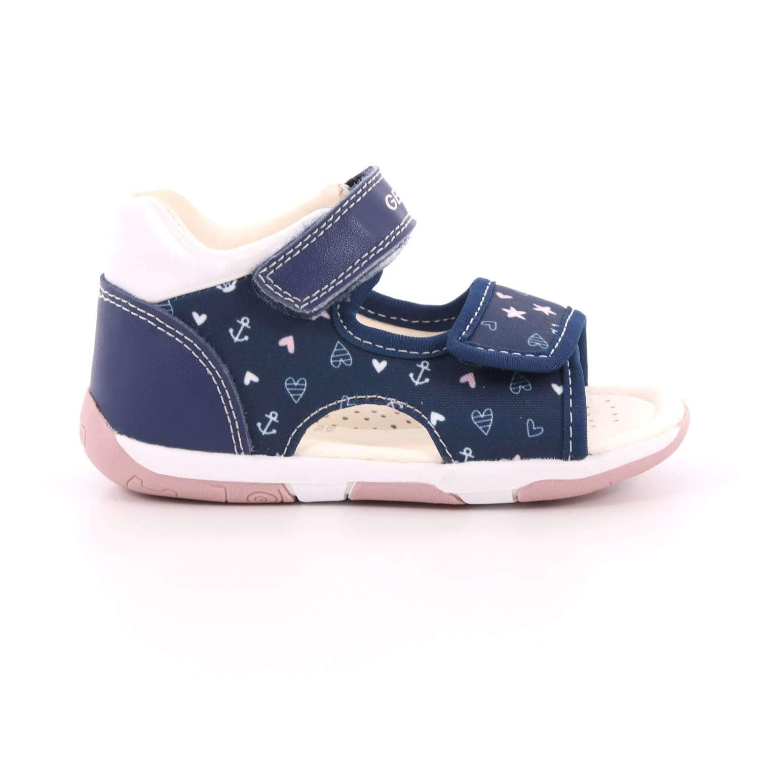 Geox Baby Girl's Tapuz A First Walker Shoes: Amazon.ca
