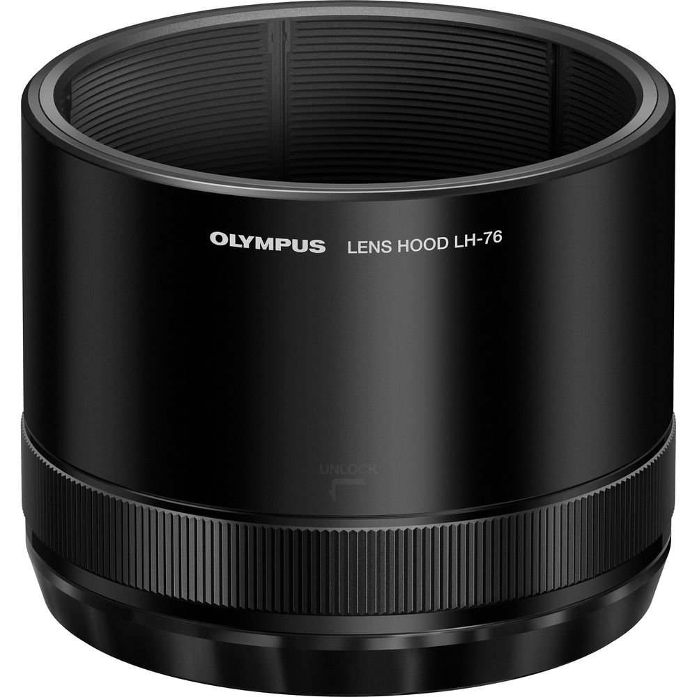 Olympus LH-76 - Lens hood - for P/N: V315050BE000, V315050BU000, V315051BE000 (V324760BW000) by Olympus