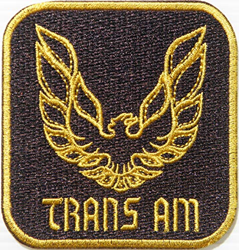 Trans AM Firebird Car Costum Racing Advertising Patch Iron on Transfer Sewing Embroidered Applique Art Craft Decorative Accessories Logo Badge Sign Embelm Gift -
