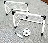 Perfect Life Ideas Soccer Game for Kids Outdoor Backyard Lawn Goal Post Kickball Game Set - Encourage Teach Toddler Children at Early Age Into World Cup Sport Games Portable Fun Activity Child Toy