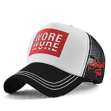 b0f673b5c81f XsFirecow メッシュキャップ 帽子 ランニング ジョギング ウォーキング (ブラック)