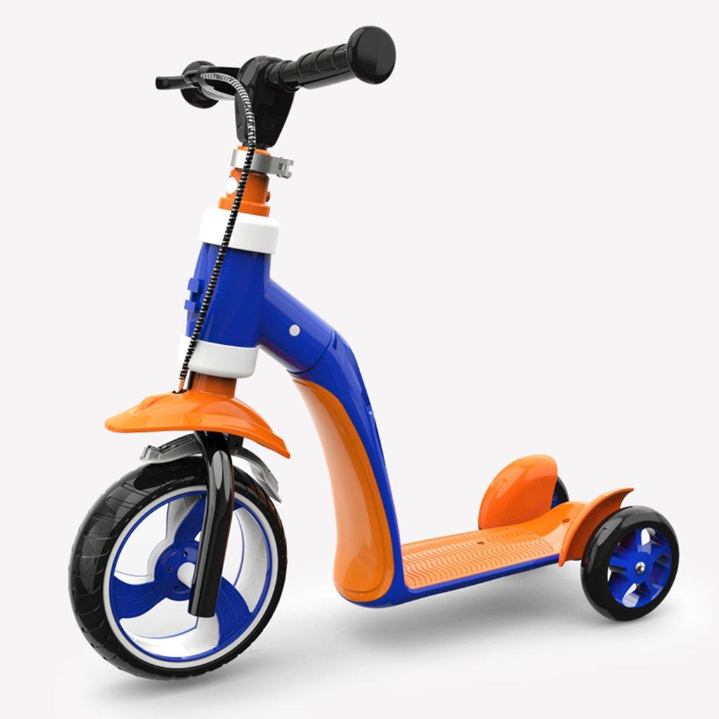 今季ブランド 折りたたみ式のスクーター調節可能な子供折りたたみ式のウォーカー多機能スライドの車のフラッシュPU車は3-10歳に座ることができます B07FYLCWQ7 Orange B07FYLCWQ7 Orange Orange, トヨアケシ:2c710532 --- a0267596.xsph.ru