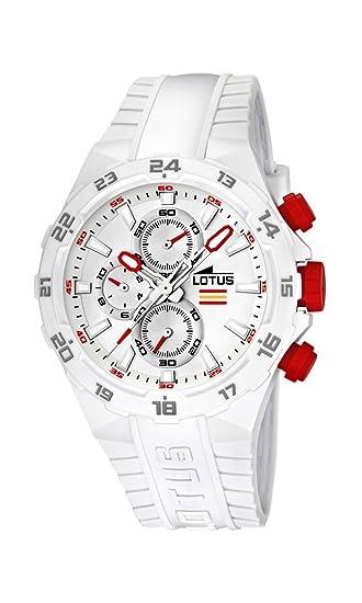 0279b8a63115 Lotus Champion 15800-1 - Reloj cronógrafo de Cuarzo para Hombre ...