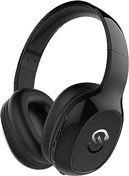 Cascos Bluetooth 4.1 Inalámbricos, Auriculares Bluetooth de Diadema SoundPEATS A2 20 Horas de Duración de la Batería Auriculares Inalámbricos con Micrófono Manos Libres Audífono para PC/TV/Moviles: Amazon.es: Electrónica