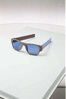 Sunfold Tribu Gafas de Sol Enrollables, Hombre, Blanco y ...