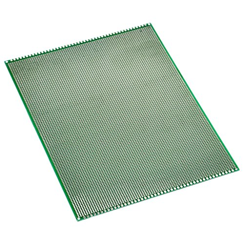 Gikfun Double Side Prototyping Matrix PCB Circuit Plate Board 20cm x 30cm AE1163 (Pcb Plate)