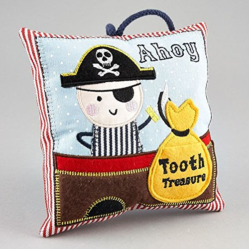 Tooth Fairy Cushion PIRATE (Dispatched From UK) (Bed Pirate)