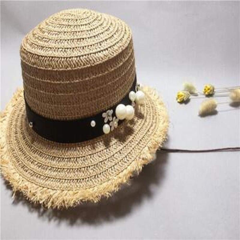 kyprx Sombrero de Playa Sombrero para el Sol Flor Sombreros para ...