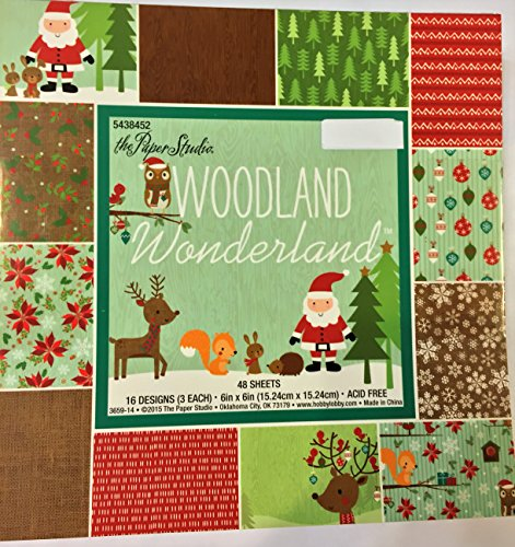 Woodland Wonderland Christmas Paper Pack 6