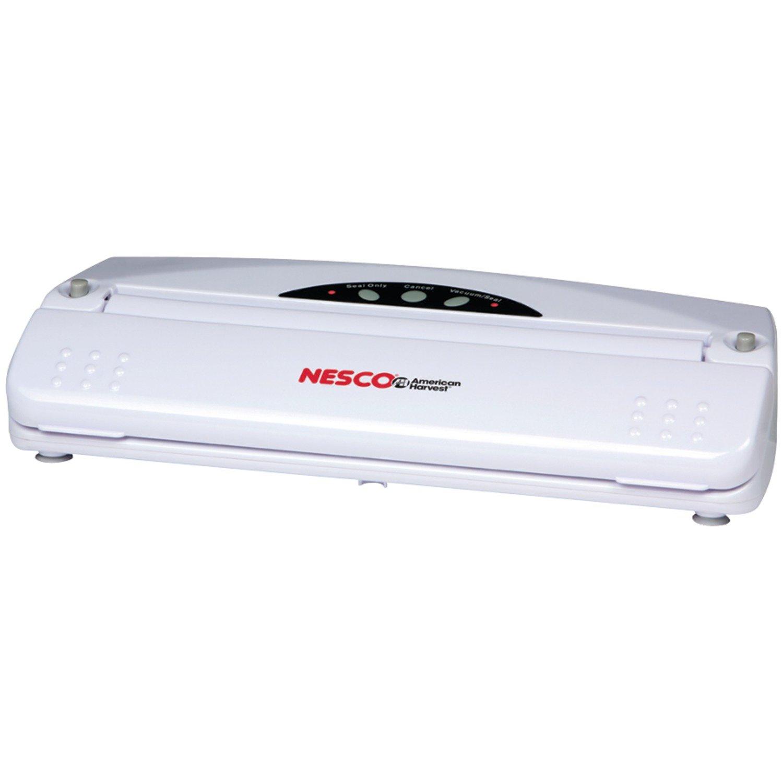 Nesco VS-01 RA26857 Vacuum Sealer (110-watt White)