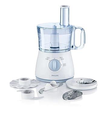 Amazon.de: Philips HR 7621/70 New Daily Küchenmaschine (500 W, 5 ...