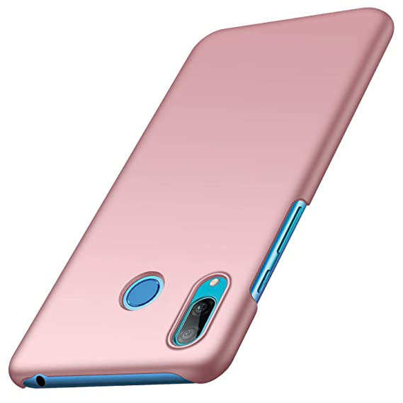 anccer Compatible for Huawei Y6 2019 Case [Colorful Series] [Ultra Thin Fit] Hard Slim Cover for Huawei Y6 2019 (Rose Gold)