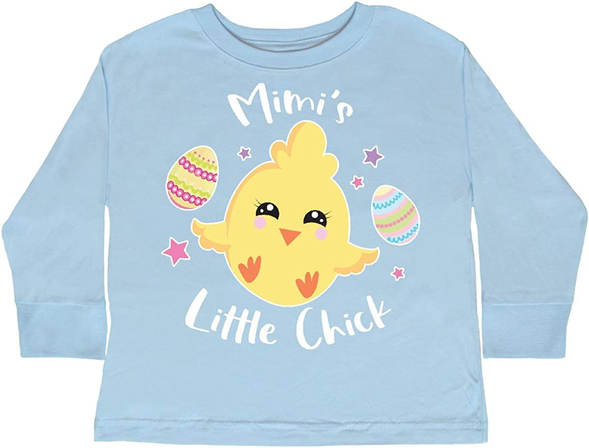 inktastic Happy Easter Mimis Little Chick Toddler Long Sleeve T-Shirt