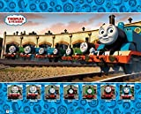 GB eye Thomas and Friends Group Mini Poster, Wood, Multi-Colour, 40 x 50 cm