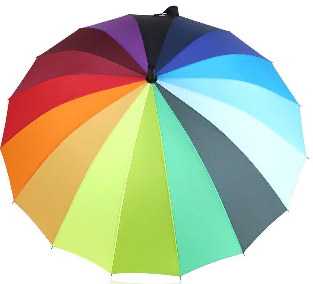 Generic Folding Travel Compact Umbrella Size 60inch Multicolor