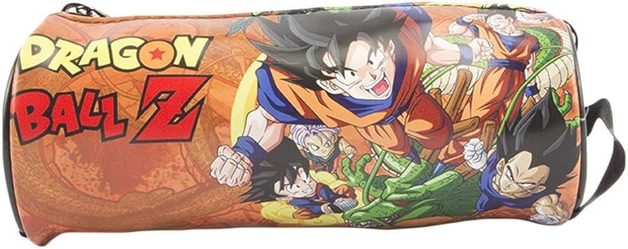 Dragon Ball Estuche de Lápices Anime PU LeatherPencil Estuche de Dibujos Animados Impreso Lápiz Bolsa Estudiantes Bolso de la Pluma (Color : A01, Size : 18.5 X 7.5cm): Amazon.es: Equipaje