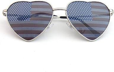 Premium U.S. aviador USA gafas de sol de bandera americana EEUU ...