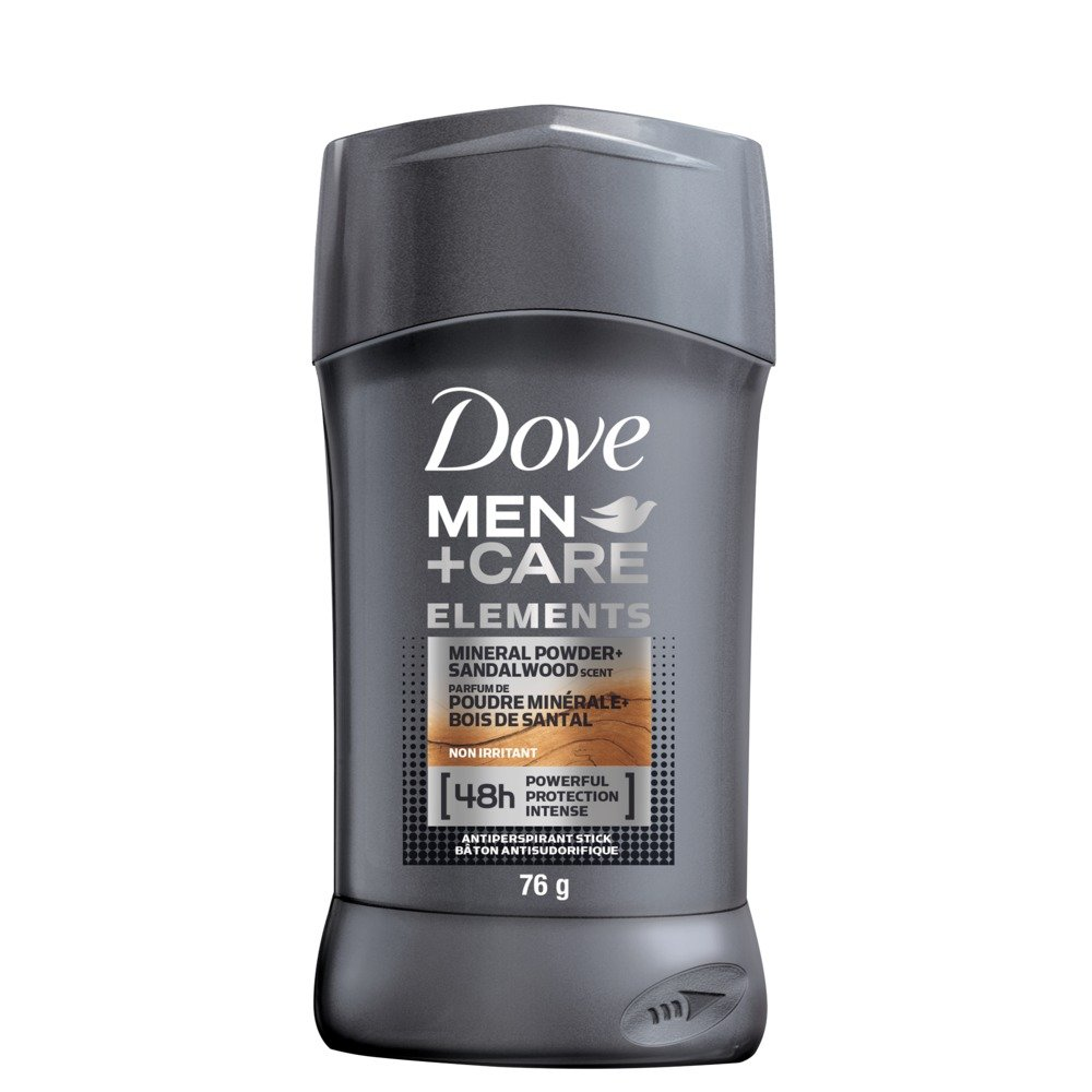 Dove Men+Care Extra Fresh Non Irritant Anti-Perspirant Stick 76g Dove Men + Care