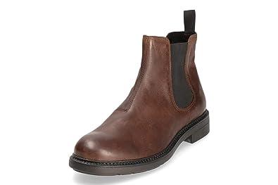 536faaf3f93bf3 Vagabond Herren Edward Chelsea Boots Braun Dunkel Gr. 42  Amazon.de ...