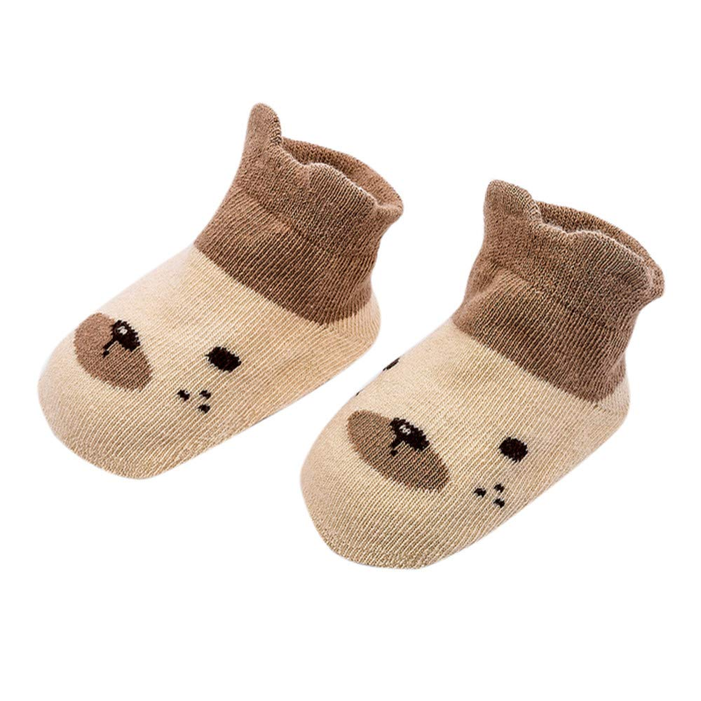 Baby Sock Infant Toddler Boy Girl Newborn Animal Print Cotton Kids Socks 0-4 Years