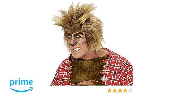 WIDMANN 06748 - Pelucas Hombre lobo en un tamaño: Amazon.es: Juguetes y juegos