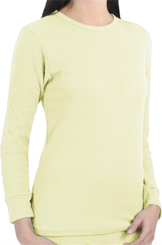 Super warmes Damen Thermo Unterhemd Langarm, Thermo Unterwäsche