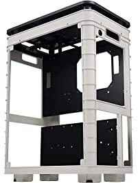 InWin Alice Open Air ATX Mid Tower with Dustproof Cover - Gaming Computer Chassis for Test Bench and HTPC Case